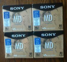 4*Sealed* New Sony Minidiscs