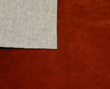 3 Teddy Fabrics / Paw Fabrics / Miniature Bear Fabrics - 20 x 25 cm red-brown