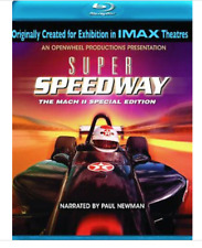 Imax- Super Speedway The Mach II Special Edition Blu Ray Paul Newman