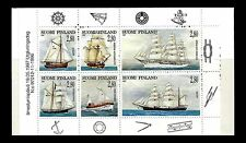 FINLAND. Sailing Ships. Booklet of 6. 1997, Scott 1047a. MNH (BI#52)