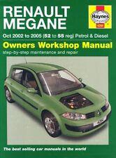Renault Megane Petrol and Diesel Service and Repair Manual: 2002 to 2005 (Hayne