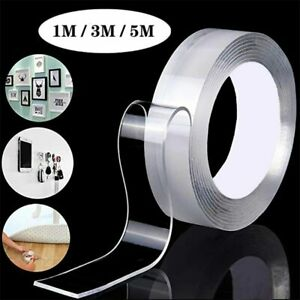 Reusable Nano Adhesive Double Sided Tape Cleanable Waterproof anti slip tape