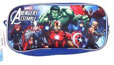 Marvel Avengers Assemble Double Compartment Pencil Case NWT
