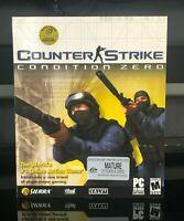 Counter-Strike Condition Zero - Windows, 2004 - Valve - Big Box PC Game