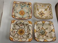 Gubbio Italy CAFF Dinnerware Lot Of 4 Pasta Bowl / Made In Italy