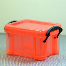 Plastic Practical Rectangle Storage Box Case Container Organizer Mini With Lid