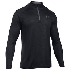 UNDER ARMOUR - Mens Tech Embossed Half Zip Top - Camiseta Manga Larga - Talla M