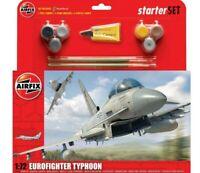 AIRFIX 1:72 EUROFIGHTER TYPHOON MODEL AIRCRAFT KIT LARGE STARTER SET A50098