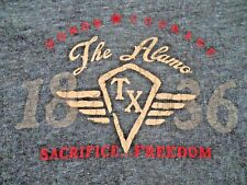 The Alamo TX 1836 Honor Courage Sacrifice Freedom T-Shirt Juniors Large