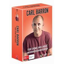 BRAND NEW Carl Barron Collection (DVD, 2017, 5-Disc Set) R4 Movie Stand Up