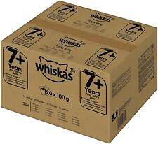 Whiskas Cat Food Wet Food Senior 7+ Mixed Selection in Jelly 120 x 100g
