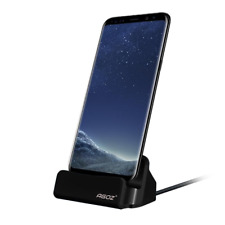 Phone Dock Stand Station Type-C USB Charger Holder Mount Supports FAST Charging