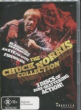 THE CHUCK NORRIS COLLECTION - FIREWALKER - AN EYE FOR AN EYE - 3 MOVIES- 3 DVD's