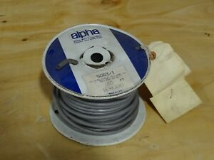 Alpha Wire 5063/1C 12 AWG Hook-Up Wire 65/30 Black 600V 100.0' (30.5m)