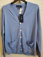 Polo Golf Ralph Lauren Men's Cotton -Silk-Cashmere Cardigan Sweater Xl