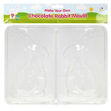 Haz tu propio Chocolate Conejo - 16cm x 8cm Molde Huevo De Pascua Búsqueda