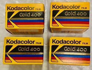 Kodak Kodacolor 35 mm Gold 400 36 Exp 1992/93 Print Film Made In USA - 4 rolls