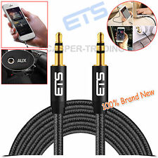 ®ETS 3m 3.5mm Jack Plug Male To Male Car MP3 Music Stereo Audio Cable Lead Black