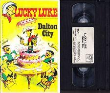 VHS Lucky Luke - Dalton City - Select - Zeichentrick Videokassette