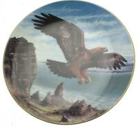 Royal Doulton Eagle Lords of the Sky John Mould LE of 5000 CP230 Eagle Plate