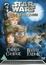 Star Wars - Ewok Adventures - Caravan of Courage / Battle for Endor (DVD, 2006)