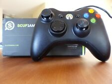 SCUF Gaming Controller Xbox 360/PC - Matt Schwarz - Kabelgebunden