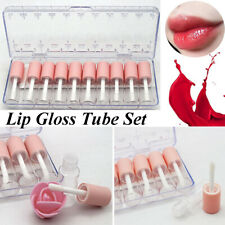 10pcs 4ML Empty Clear Lip gloss  tubes Bottle lip tube Empty Makeup Tubes KJNHB