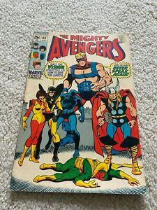 Avengers  68  Fine  6.0  Iron Man  Captain America  Thor  Vision  Black Panther