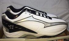 Nib Men's New Balance Warrior LaCrosse Shoes Burn Wet Turf Low White Size 13