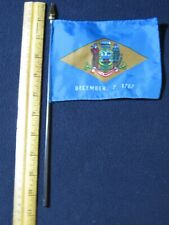Delaware State Flag Desktop Size (Approx. 10 inches)
