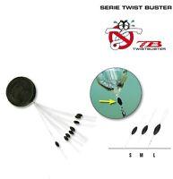 Confezione olive stopper Daiwa TB serie 15