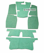 CLASSIC MGB ROADSTER & GT Carpet Felt Kit For Sound Proofing FROM 1962 TO 1980