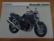Suzuki GSF1200 Bandit Motorcycle Sales Brochure -2005