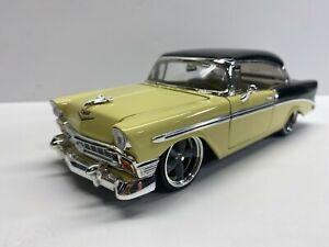 Jada Toys 1:24 Scale 1956 Chevrolet Bel Air Loose Clean Diecast No Reserve