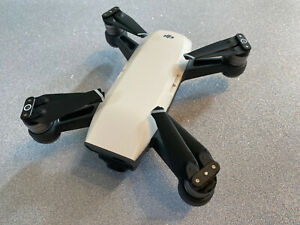 DJI Spark Drone Alpine White Excellent Condition