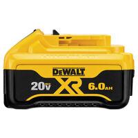 DEWALT DCB206 (1) 20V MAX Premium XR 6 Ah Li-Ion Slide Battery New