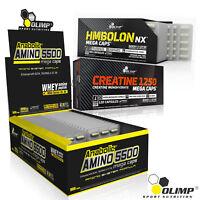 ANABOLIC AMINO ACIDS + CREATINE MONOHYDRATE + HMBOLON 90/180 BCAA PILLS HMB