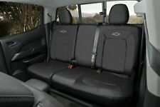 2015-2019 Colorado Crew Cab Fitted Seat Cover 23438867 Black w/o Armrest OEM GM