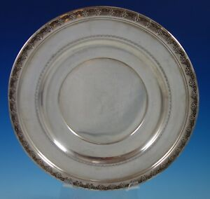 """Tara by Reed & Barton Sterling Silver Serving Plate #X458 10 3/4"""" (#2686)"""