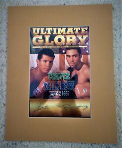 Lowered Price!! De La Hoya Chavez Front Row Ultimate Glory Theme Art Golden Boy