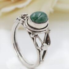 Jadering Silberring  Jade Ring Silber 925 Grün Sterlingsilber Elfen Fee ts
