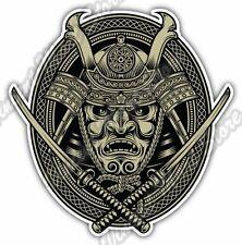 "Samurai Warrior Katana Sword Japan Gift Car Bumper Vinyl Sticker Decal 4""X5"""