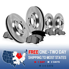 Front and Rear Rotors Metallic Pads 2002 2003 2004 2005 DODGE RAM 1500 2WD 4WD