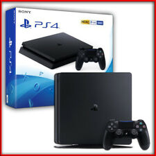 Sony PLAYSTATION 4 PS4 Console 500GB F Chassis SLIM HDR BLACK NERO Nuovo Italia