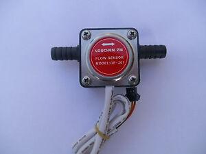 13mm Gear flow sensor Liquid Fuel Oil Flow Sensor Counter diesel gasoline NEW