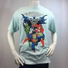 Men's T-shirt -JUSTICE LEAGUE-DC COMICS-Batman Green Lantern -Flash Superman -XL