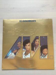The Magic Of Boney M - 20 Golden Hits Original Vinyl