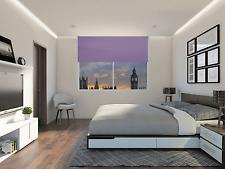 Lilac 120cm Thermal Blackout Roller Blind Blinds 4ft