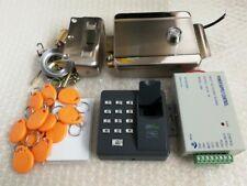 NSEE Stainless Steel Door Gate Lock Fingerprint 125KHz RFID Access Control Card