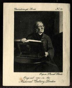 Tobacco Card, Ardath, GAINSBOROUGH SERIES, 1915, Orpin Parish Clerk, #21